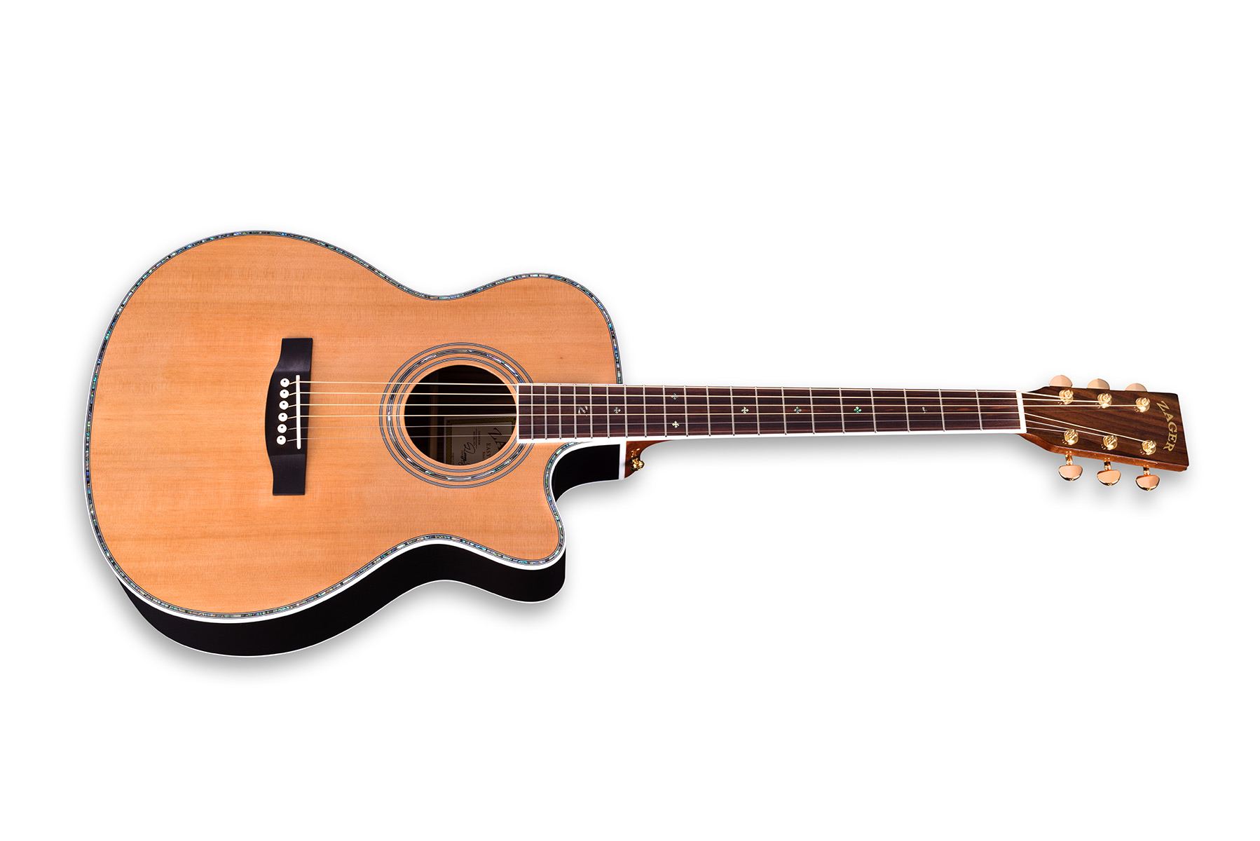 zager ez play zad80ce om size acoustic electric rh zagerguitarlessons com